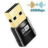 iAmotus USB WiFi Adaptateur [Garantie à 2 Ans] AC600 Mbps Mini Double Bande Wireless...