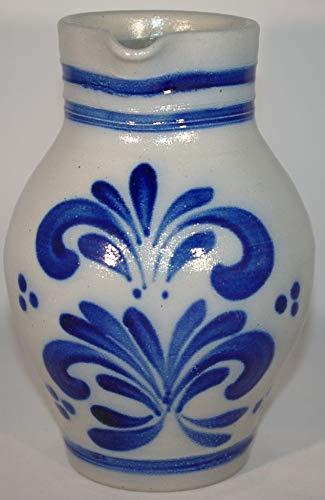 Original Bembel Weinkrug Salzglasur 1 Liter Handarbeit Germany Mostkrug Apfelwein