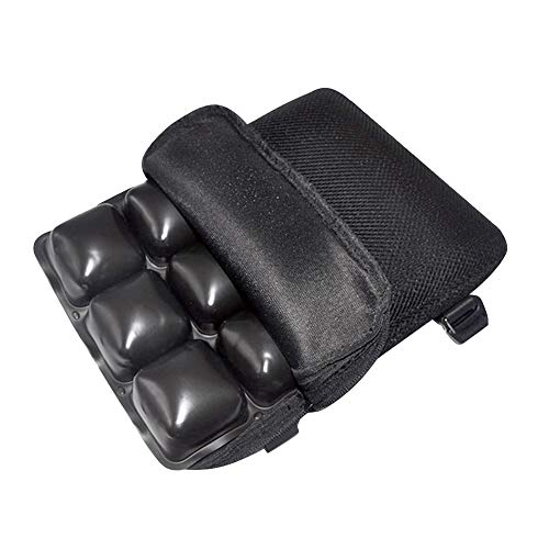 MOTOLIMO Motorcycle Seat Cushion Cruiser Touring Saddles,Water Fillable Cooling Down Seat Pad, Pressure Relief Ride Motorcycle Air Cushion with Air Pump 30 * 23 * 4cm