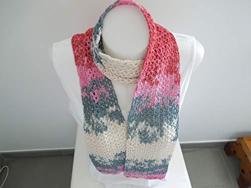 Schal aus Bändchengarn