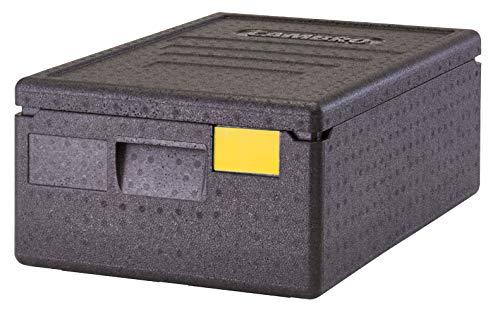 Cambro Contenedor isotérmico con Apertura Superior 26 L, Polipropileno, Negro, 60 x 40 x 20,7 cm (M.Ext) - 53,8 x 33,8 x 14,5 cm (M.INT)