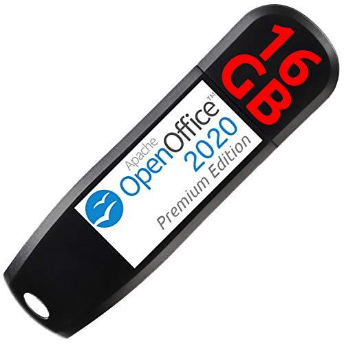 OpenOffice 2020 Premium Edition auf 16 GB USB-3.0-Stick für Windows