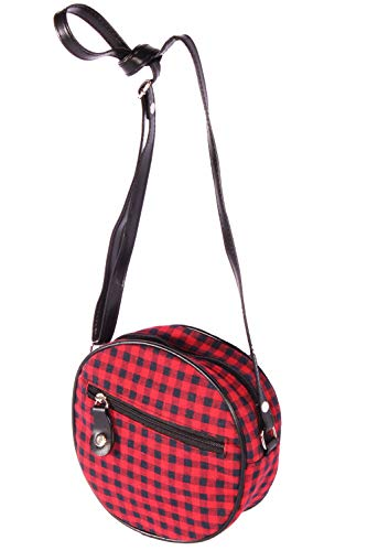 SugarShock Damen Gingham Roundbag 153274351 Rot One Size
