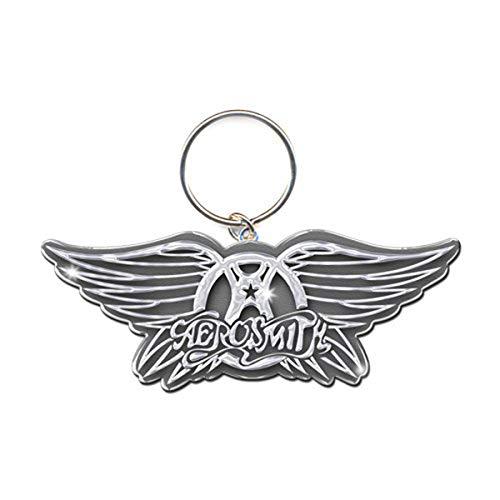Aerosmith Wings Logo Steven Tyler llavero con licencia