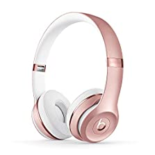 Beats Solo3 Kabellose Bluetooth On-Ear Kopfhörer ? Apple W1 Chip, Bluetooth der Klasse 1, 40 Stunden Wiedergabe ? Roségold © Amazon