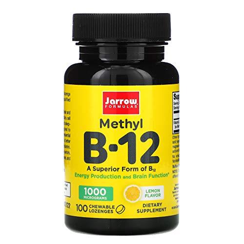 Vitamina B12 Metilcobalamina 1000mcg Limão
