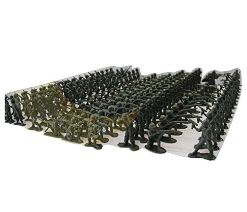 Black Temptation 100 PC Plastic Soldiers Modelo Toy Sand Table Model Regalos Boy / Kid Toy, 4CM