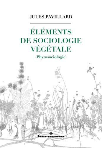 Eléments de sociologie végétale (phytosociologie)