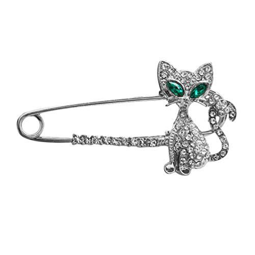Holibanna 1 broche moderno, durável, prático, adorável, broche de gato, broche, divertido, bola de gato, alfinete de peito criativo para mulheres, meninas e mulheres