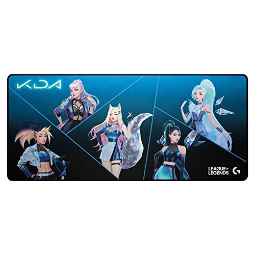 G840 Kda Customized Mouse Pad XL Gaming Mouse Pad Oversized 400900mm for Laptop Pc Gaming LOL Overwatch Pubg Dota2