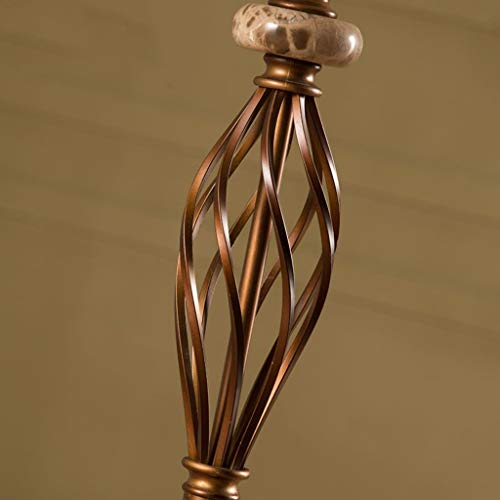 Huishoudelijke staande lamp, staande leeslamp, creatieve Amerikaanse vloerlamp woonkamer slaapkamer bedlampje verticale lampen landelijke retro eenvoudige Europese stijl vloerlamp ogen Retro 2