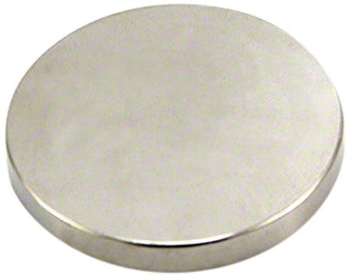 First4magnets F360-1 40mm Durchmesser x 5mm Dicker N42-Neodym-Magnet-16,3kg Anziehungskraft (1 St-Packung)