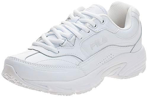Fila Women's Memory Workshift Cross-Training Shoe,White/White/White,8 M US
