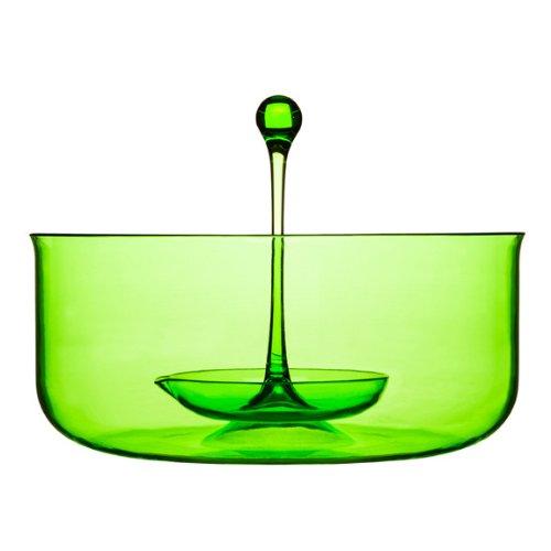Sagaform Happy Days - Ponchera para sangría (con cucharón), Color Verde
