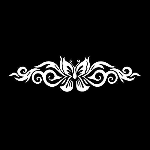 RUIRUI Schmetterling Tribal Tattoo Auto Aufkleber Auto Motorrad Außenteile Vinyl Aufkleber