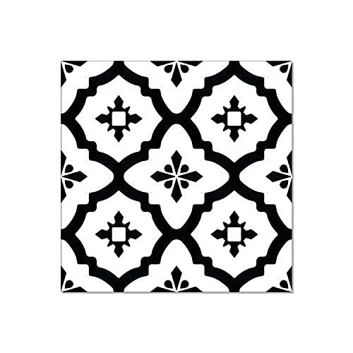 Luxury Vinyl Floor Tiles by Lucida USA   Peel & Stick Adhesive Flooring for DIY Installation   36 Decorative-Look Tiles   BaseCore   36 Sq. Feet   12