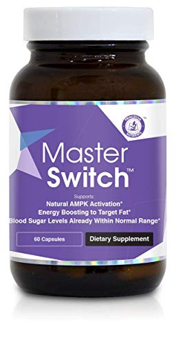 Princeton Nutrients™ MasterSwitch™ Natural AMPK Activator and Energy Booster, 60 Count
