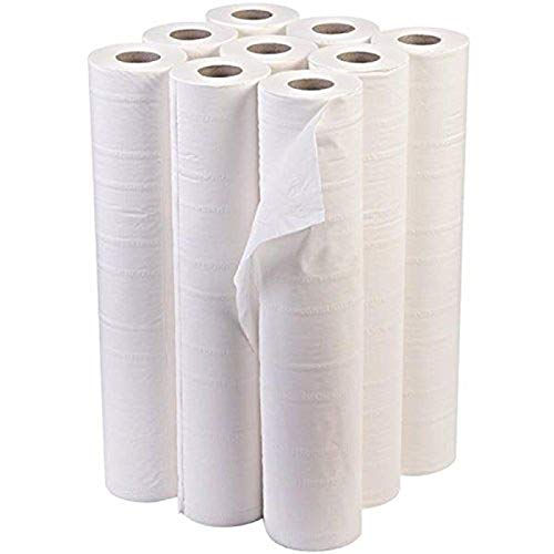 IDEAL 365 Northwood White 20' Couch Roll Hygiene Roll - 40 Metres (9)