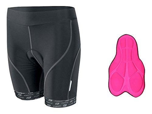 Force Force1 Lady Womens Cycle Shorts, Pantaloncini Donna, Black, L