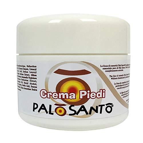 Crema Hidratante para Pies con Aceite Esencial Puro de Palo Santo – Producido en Italia por...