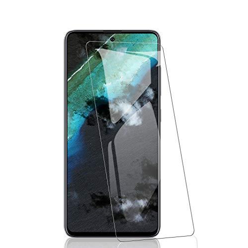 RIIMUHIR-Films de Protection d'Écran en Verre Trempé pour Samsung Galaxy A51 [3 pièces], Verre Trempé Anti-Empreintes Digitales, Dureté 9H, sans Bulles, Vitre Protecteur HD Transparent