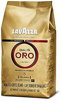 Lavazza Qualit Oro Whole Bean Blend Medium Roast, 2.2 Pound