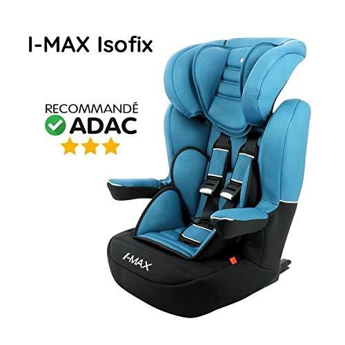 Silla de coche de lujo NANIA I Max isofix Group 1-2-3 - Azul