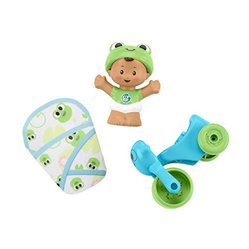 Fisher-Price Little People Bundle 'n Play, Baby Figure and Gear Set
