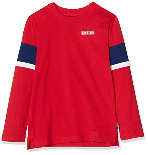 Nike - Fitness-Longsleeves für Jungen in University Red/Blue Void/White/White, Größe XS