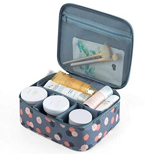 Borsa per cosmetici Ruesious, borsa per il trucco impermeabile, borsa per il trucco di grande capacità adatta per viaggi e uso quotidiano