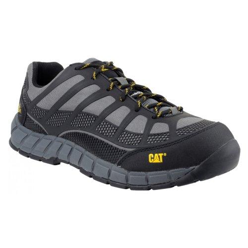 Caterpillar - Zapatos de Trabajo de Seguridad Streamline S1P para Chico Hombre (44 EU) (Carbón) ⭐