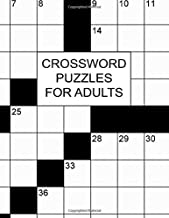 Crossword Puzzles For Adults: 100 Large Print Crossword Puzzles With Solutions