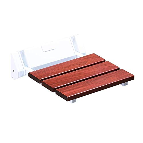 Z-SEAT Massivholz-Klappduschsitz, Wand-Duschhocker für Badezimmer, maximale Belastung 250 kg, für ältere behinderte Kinder Schwangere, Korrosionsschutz, Platz sparen