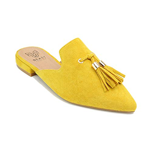 Top 10 best selling list for mustard flat mules shoes