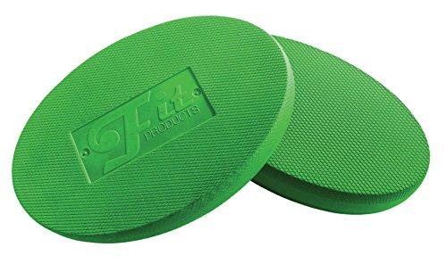 FitProducts Oval Balance Pads: Ideal für Physiotherapie, Pilates, Yoga, Kampfkunst Balance/Ausdauer/Kernstabilität/Krafttraining, Bewegungsrehabilitation und vieles mehr! (Grün)