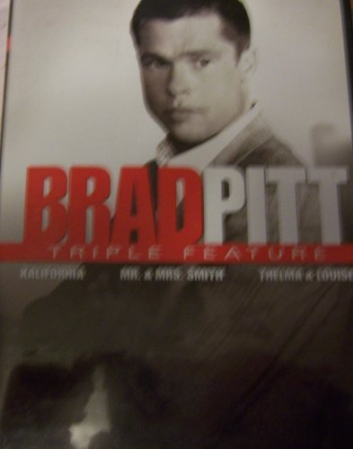 Brad Pitt Triple Feature - Kalifornia, Mr. and Mrs. Smith, Thelma and Louise