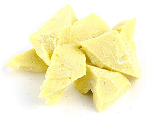 """Edelmond 100% Bio Kakaobutter """"sanft und seidig"""" - Absolut Vegan, Laktose & Glutenfrei (200 g)"""