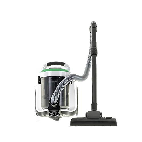 Buran: Nass- und Trockensauger (1400 Watt, 2,8L, Beutellos, HEPA H13) Bodenreiniger Mehrzwecksauger für Hartböden und Teppiche, speziell für Allergiker