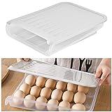 TIMESETL エッグホルダー 卵ケース 冷蔵庫 収納 18個収納可能 たまごケース 卵入れ 引き出し