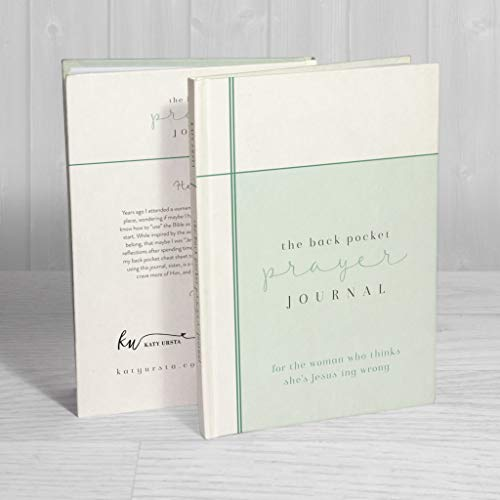 The Back Pocket Prayer Journal