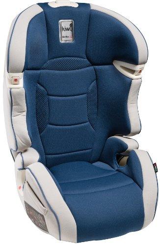 Kiwy 14003KW02B Kinderautositz Gruppe 2/3 mit Q-Fix Adapter für Isofix 15/36KG Ocean