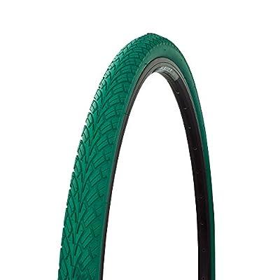 Bicycle Street Tire 700x38c G-5001, Road Bike, Fixie, Hybrid, (Green)