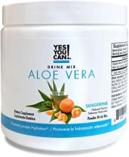 Yes You Can! Aloe Vera Drink Mix - Tangerine