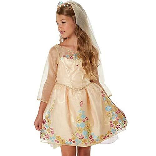 Cherry blossoms Película Cenicienta, Falda del Vestido de Novia de Cenicienta, Trajes de actuación escénica para niñas y niños