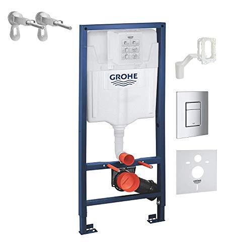 Grohe Absenkautomatik für geräuschloses Schließen von WC-Sitz und Deckel