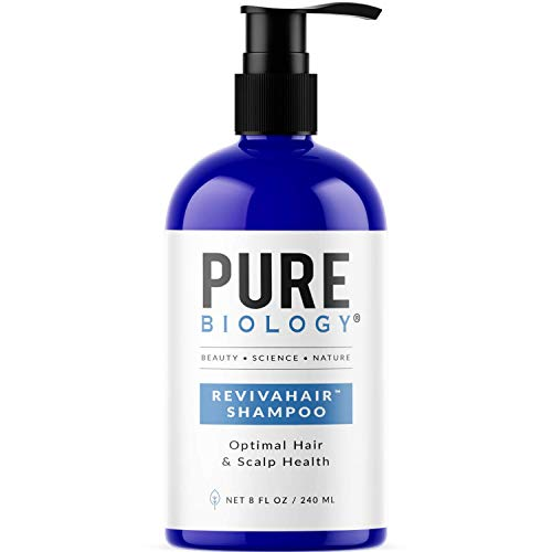 Pure Biology Premium Revivahair Shampoo with Biotin for Hair Growth & Clinically...
