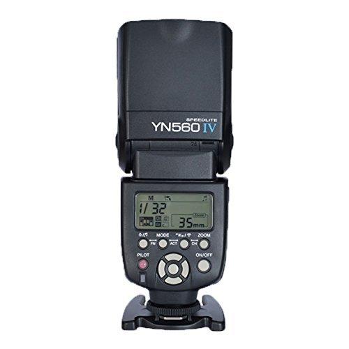 YONGNUO YN560 IV 2.4GHZ Blitz Speedlite Wireless Transceiver Integrierte für Canon Nikon Panasonic Pentax Kamera + NAMVO Diffusor