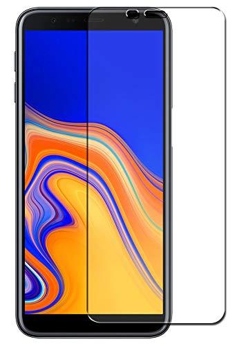 SDTEK *2 Pack Schutzglas für Samsung Galaxy J6 + Plus Panzerglas Glasfolie Hartglas Panzerfolie Tempered Glass Screen Protector Schutzfolie Displayschutzglas