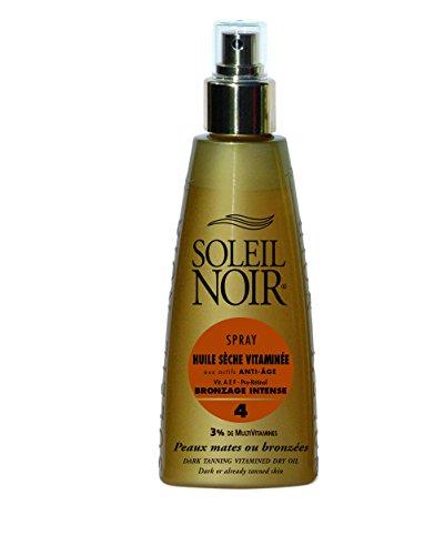 SOLEIL NOIR 44 Spray Huile Sèche Vitaminée 4 Bronzage Intens