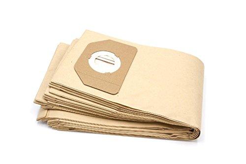 vhbw 10 Papier Staubsaugerbeutel Filtertüten passend für Bosch Wet & Dry PAS 11-21, PAS 12-27, PAS 12-27 F Staubsauger Saugroboter Mehrzwecksauger